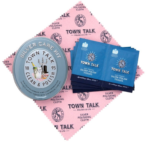 Town Talk Silver Care Kit Tin