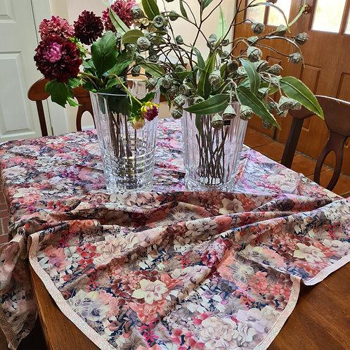 Tablecloth - Pink Magnolia