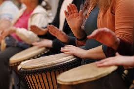 Drumming is good for you mental and physical health!