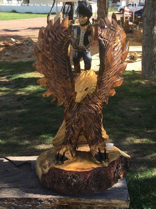 Flying Freedom Eagle