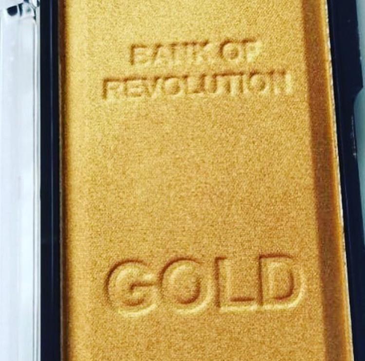 Makeup Revolution Gold Bar Highlighter | UK Makeup News | FYI Beauty