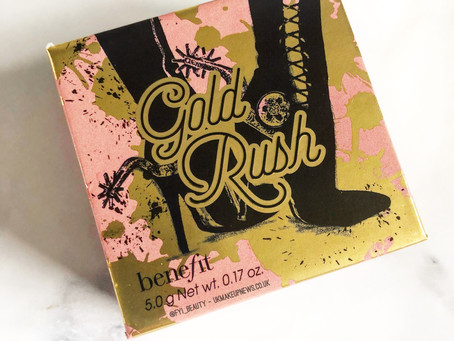 Benefit Cosmetics Gold Rush Blush Review & Swatches