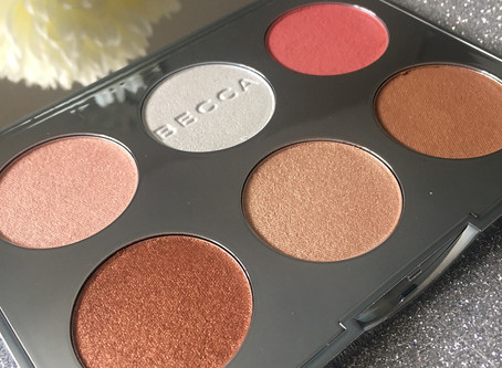 BECCA Apres Ski Glow Face Palette Review & Swatches