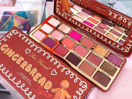 Too Faced Gingerbread Spice Palette UK
