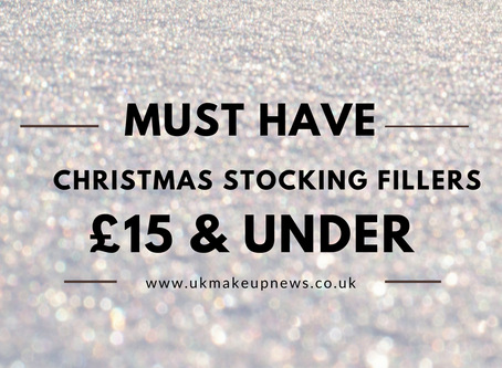 Must Have Christmas Stocking Fillers - £15 & Under
