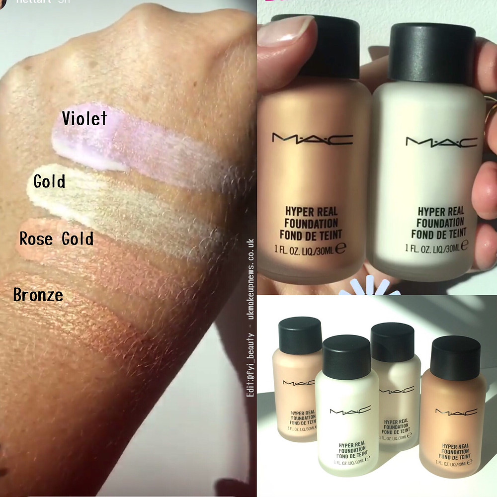 MAC Hyper Real Glow Foundation Re-release 2018 | UK Makeup News | FYI Beauty
