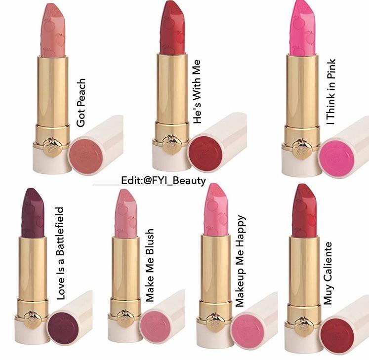 Too Faced Peach Kiss Long Wear Lipstick UK