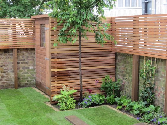 Slatted Fence Panels | Garden Fencing Ideas UK