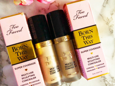 Too Faced Born This Way Super Coverage Concealer Swatches/Review/UK Launch