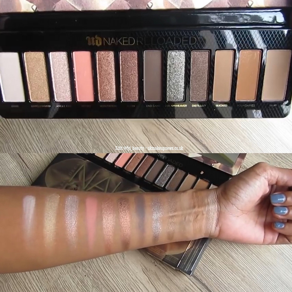 Urban Decay Naked Reloaded Eyeshadow Palette | UK Makeup News | FYI Beauty