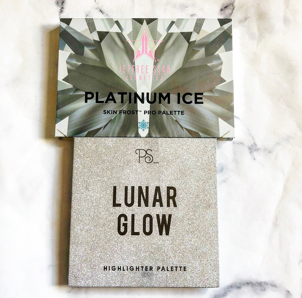 £5 Dupe For The Jeffree Star Platinum Ice Skin Frost Pro Palette   Primark Lunar Glow   UK Makeup News   FYI Beauty