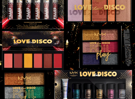 Preview: NYX Holiday 2019 Love Lust Disco Collection