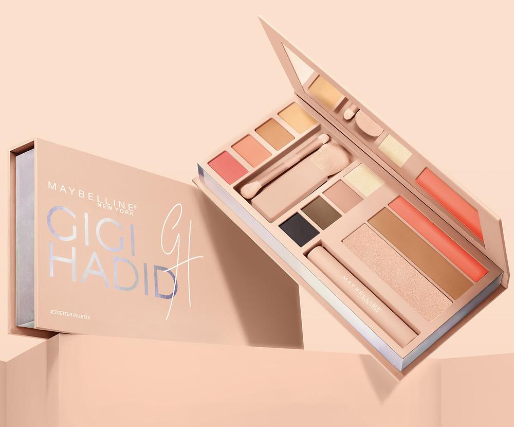 Maybelline X Gigi Hadid Jetsetter Palette | UK Makeup News | FYI Beauty
