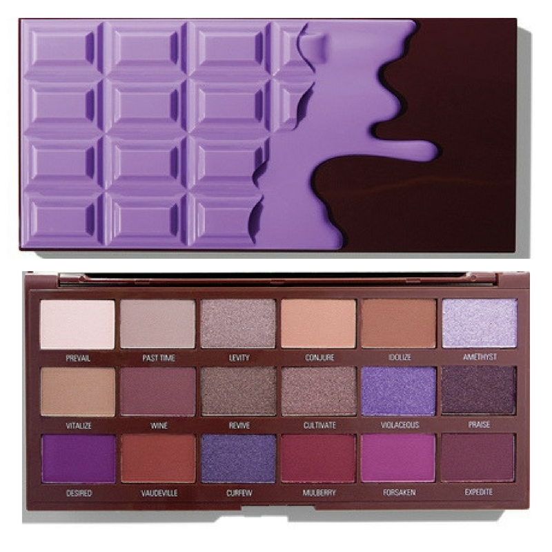I Heart Revolution Launches Violet Chocolate Palette | The Scoop | FYI Beauty