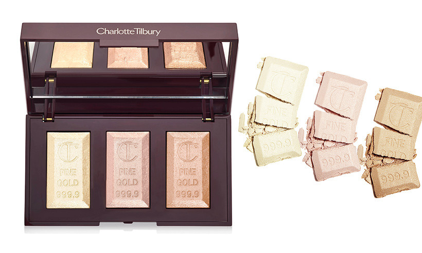 Charlotte Tilbury Unveils Bar Of Gold Trio Palette | UK Makeup News | FYI Beauty