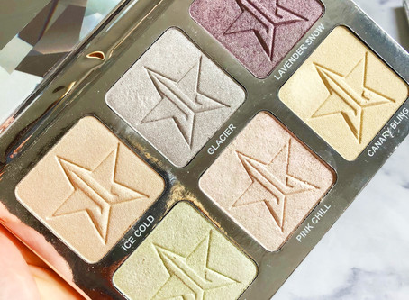£5 Dupe For The Jeffree Star Platinum Ice Skin Frost Pro Palette