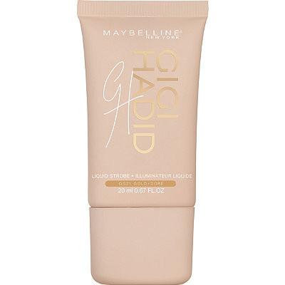 Maybelline Gigi Hadid West Coast Liquid Strobe Highlighter in Shade | UK Makeup News | FYI Beauty