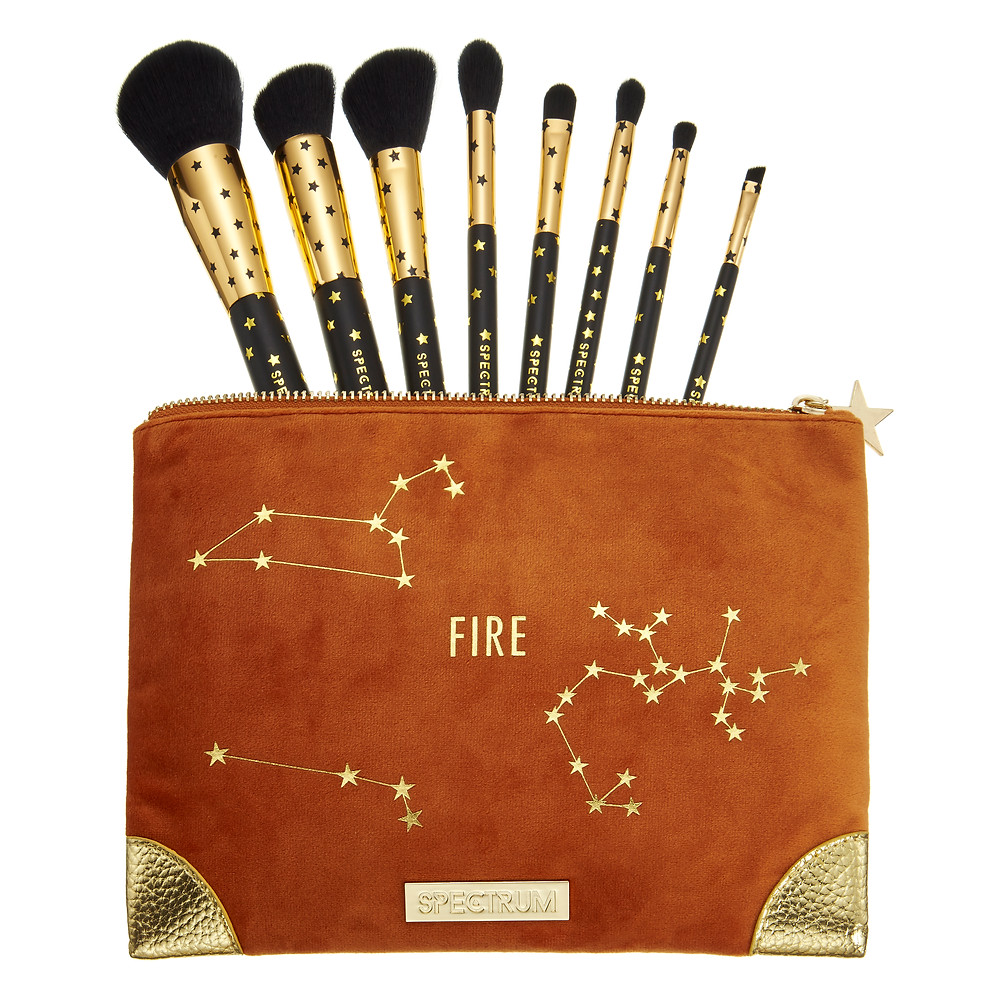 Fire Spectrum Brushes Collections The Zodiac Collection | UK Makeup News | FYI Beauty