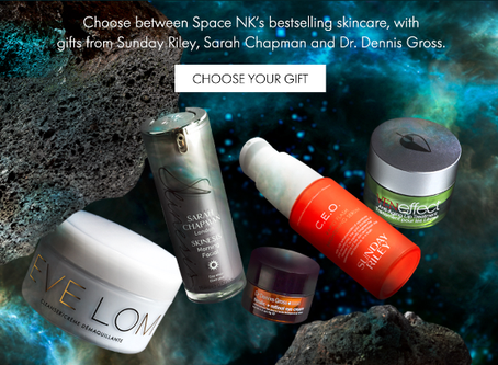 Space NK Black Friday - Free Gifts