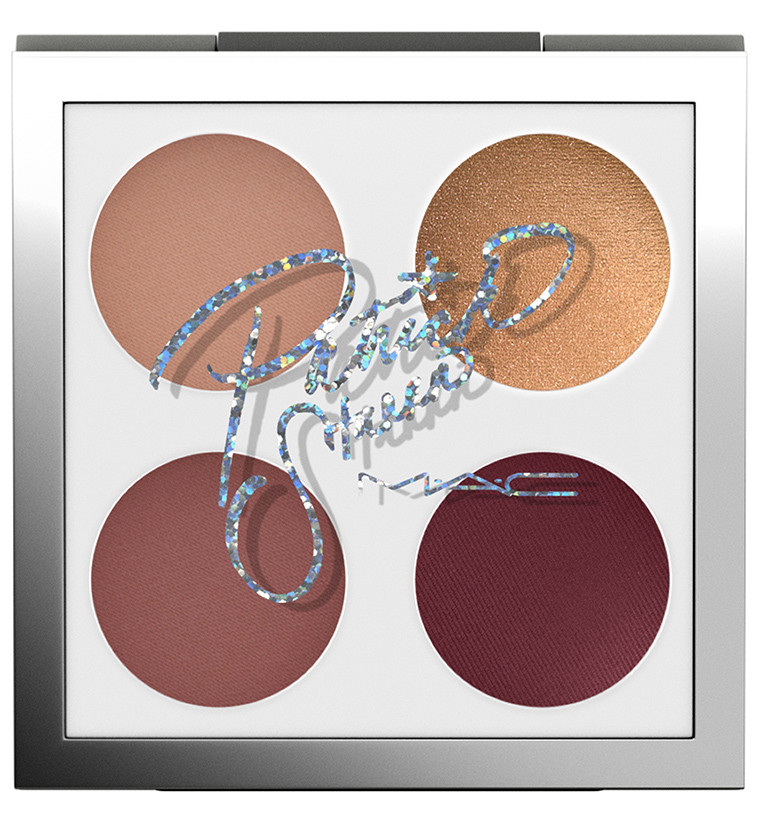 MAC x Patrick Starrr Eyeshadow Quad Palette in Goalgetter | UK Makeup News | FYI Beauty
