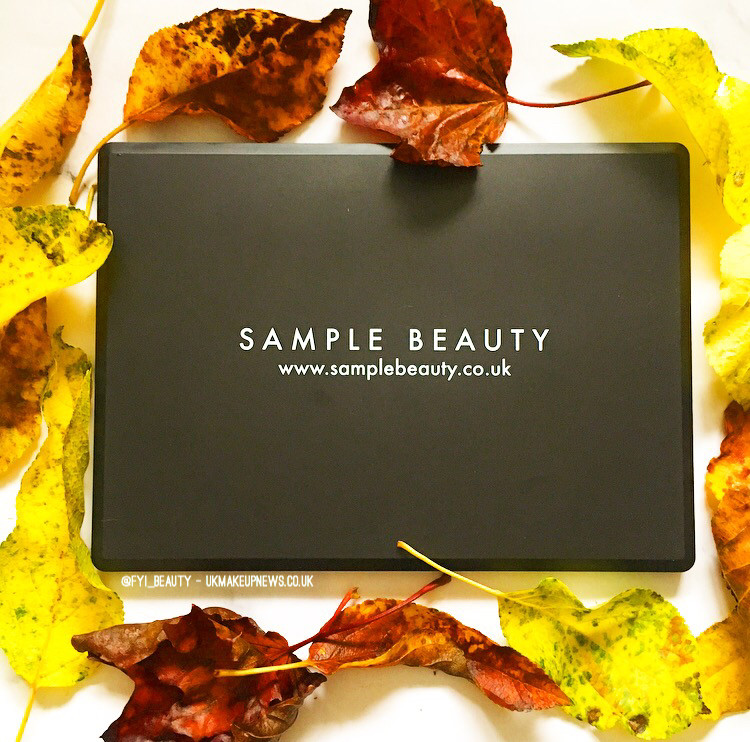 Sample Beauty Warm Eyeshadow Palette Review | UK Makeup  News | FYI Beauty