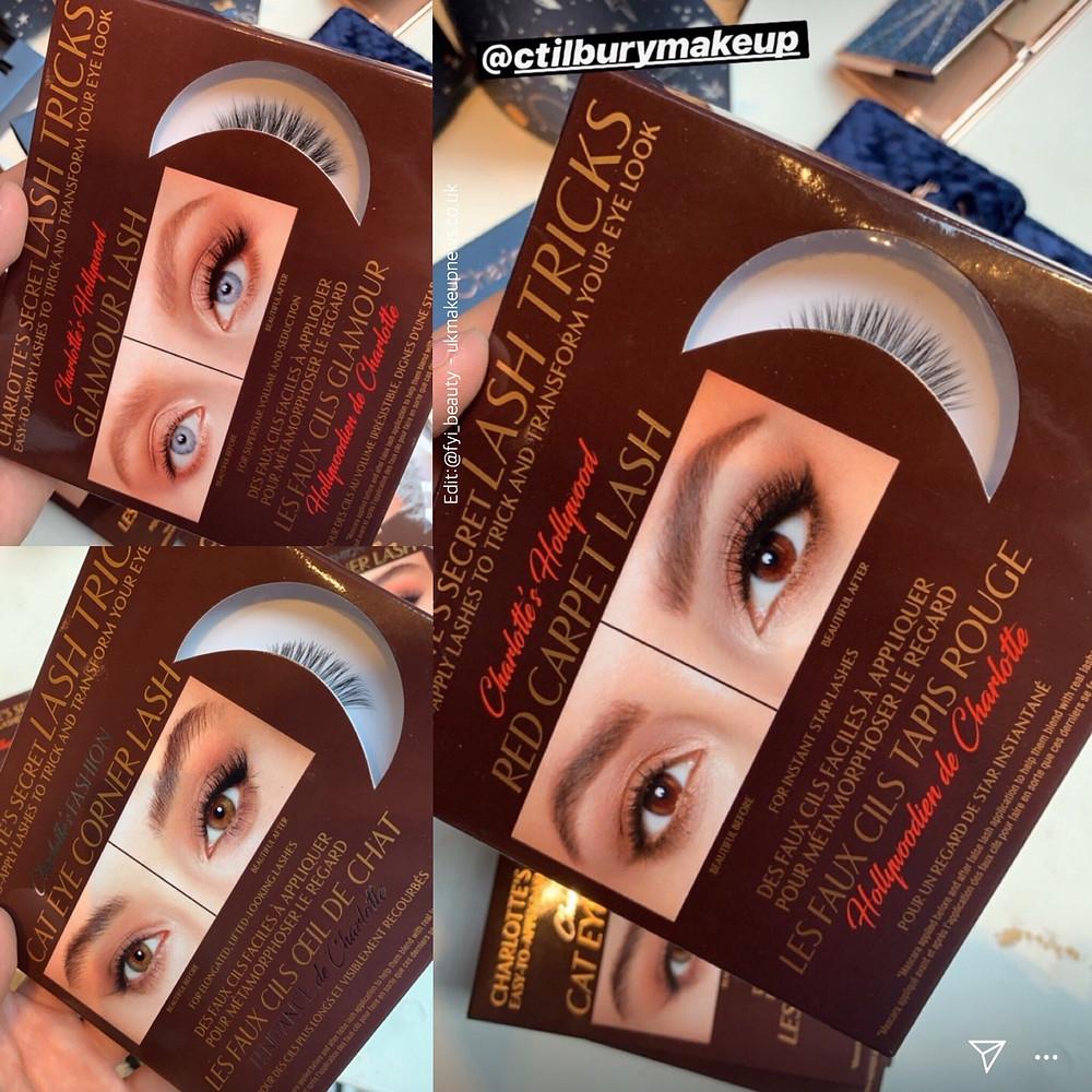 Charlotte Tilbury: Charlotte's Secret Lash Tricks - False Lashes   Holiday 2019   UK Makeup News   FYI Beauty