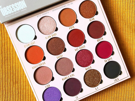 Obsession x Belle Jorden Eyeshadow Palette Review & Swatches