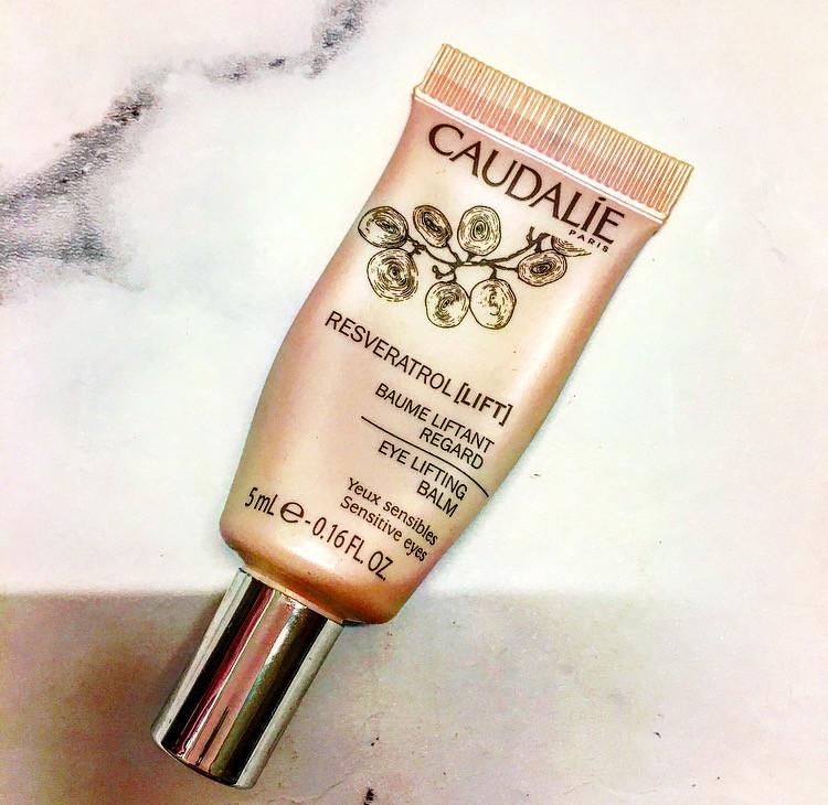 Caudalie Resveratrol Eye Lifting Balm | FYI Beauty November Favourites | UK Makeup News