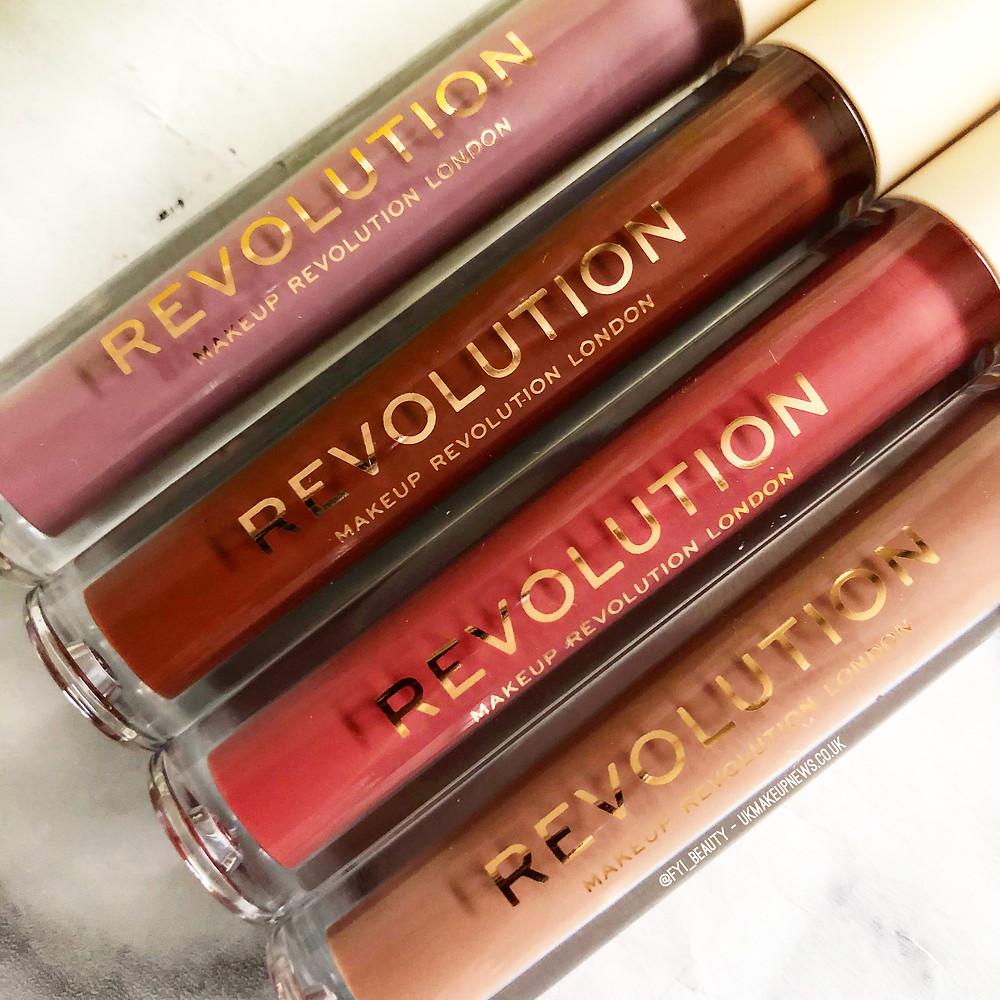 Makeup Revolution Nudes Collection   UK Makeup News   FYI Beauty