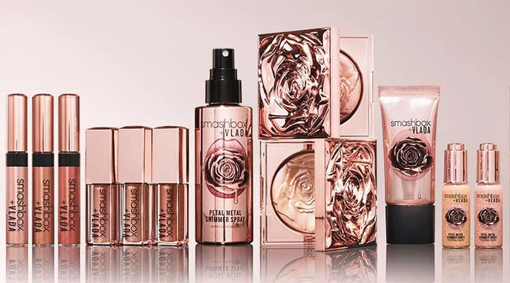 Smashbox X Vlada Petal Metal Collection Launches in the UK  | UK  Makeup News | FYI Beauty