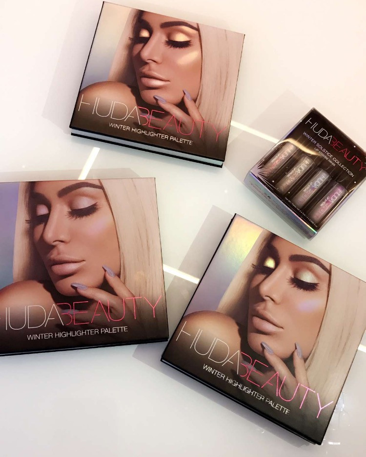 Huda Beauty Winter Solstice Highlighter Palette UK | UK Makeup News | FYI Beauty