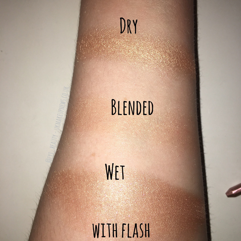 Estee Lauder Heat Wave Product Review Swatches Flash FYI Beauty