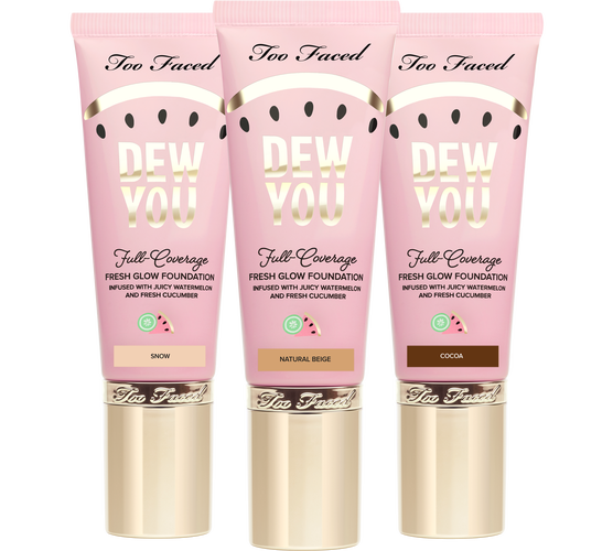 Too Faced Tutti Frutti Dew You Foundation UK | UK Makeup News | FYI Beauty
