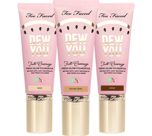 Too Faced Tutti Frutti Dew You Foundation UK | UK Makeup News | FYI Beauty