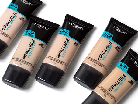 L'Oreal Infallible Pro Glow Foundation UK Launch