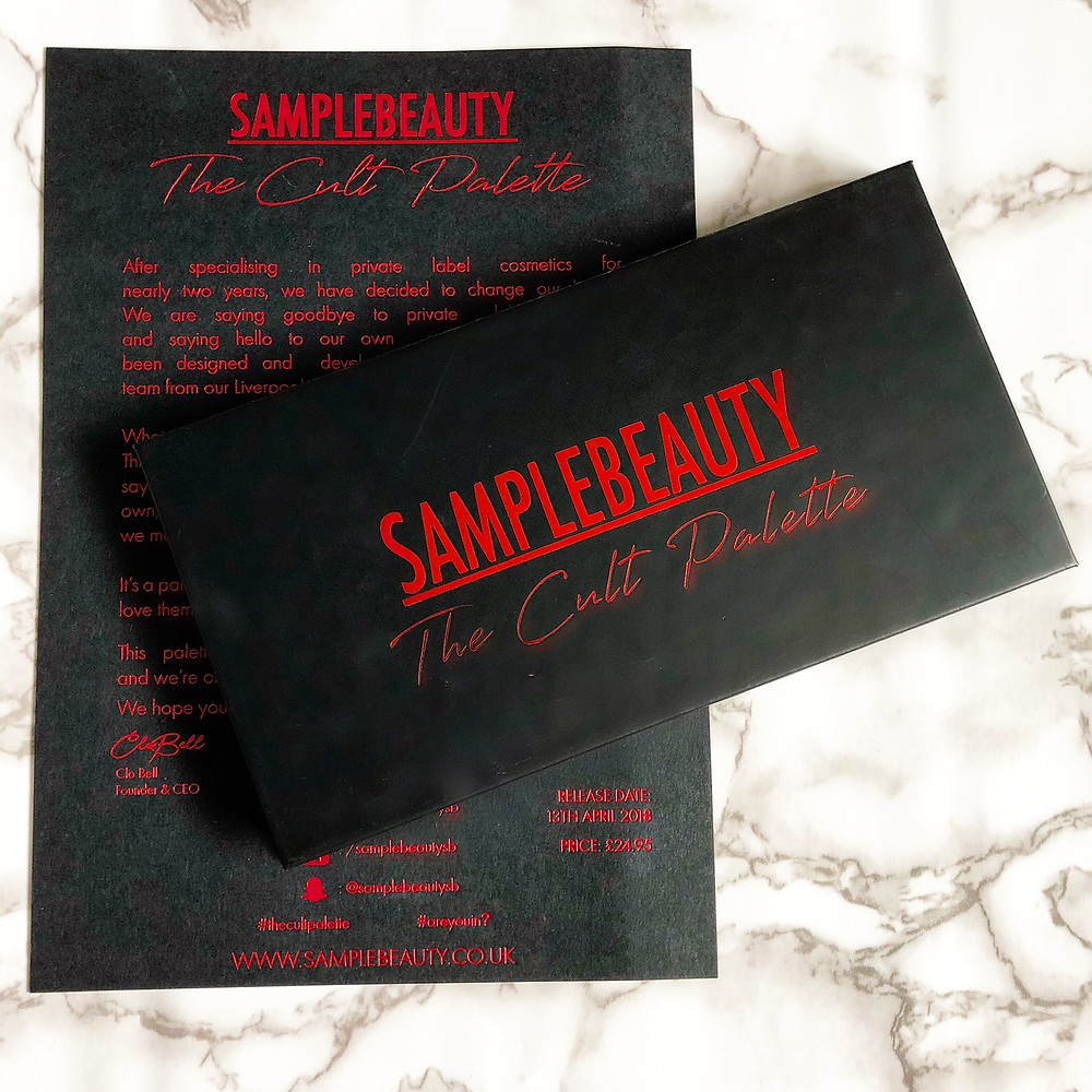 Sample Beauty The Cult Palette Review & Swatches | UK Makeup News | FYI Beauty | UK Beauty Blog