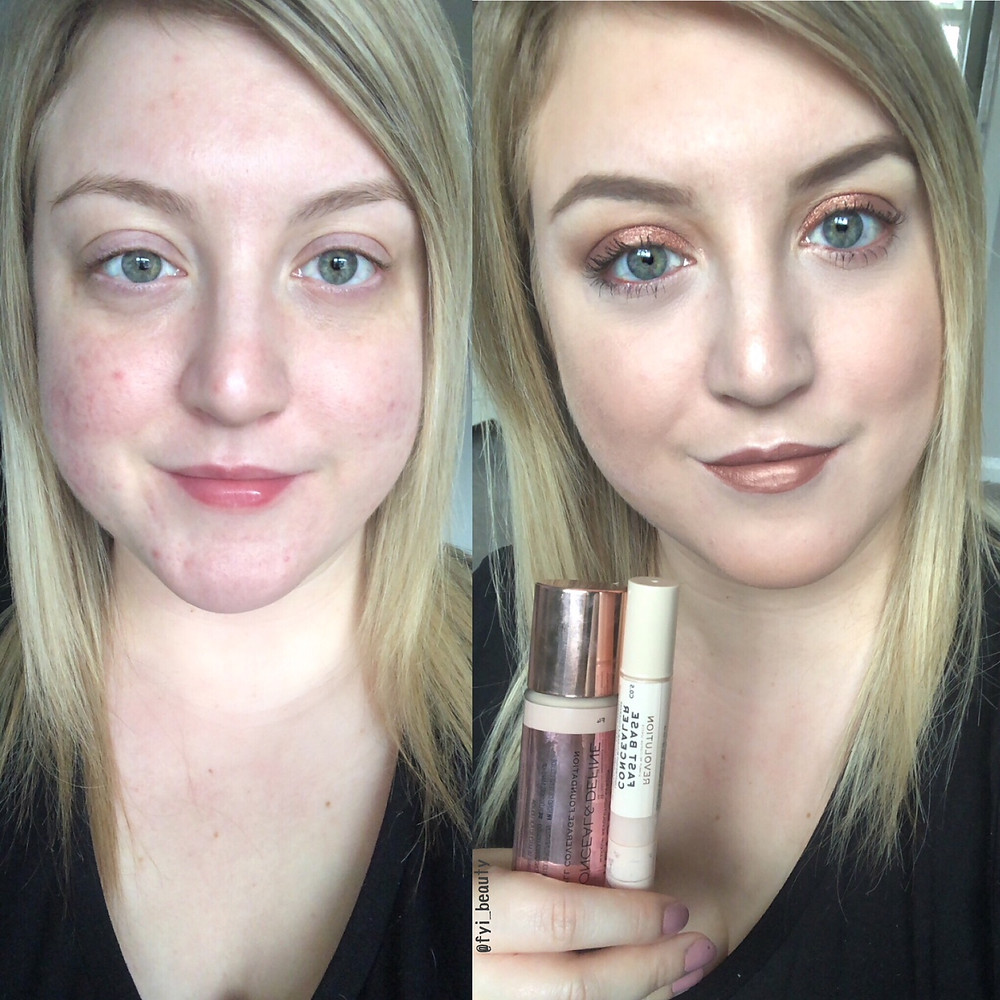 Revolution Conceal & Define Full Coverage Foundation Review & Before + After | UK Makeup News | FYI Beauty