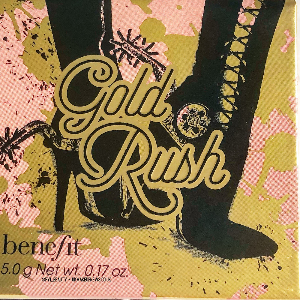 Benefit Cosmetics Gold Rush Blush | UK Makeup News | FYI Beauty