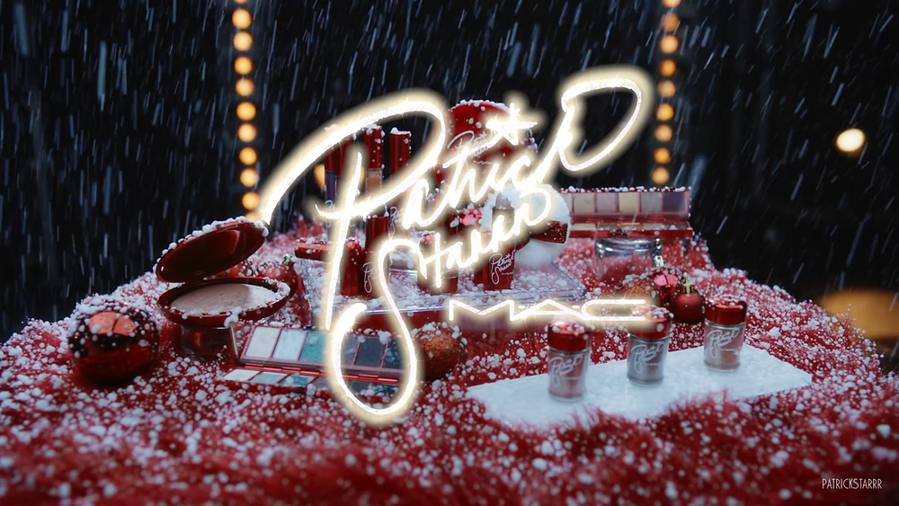 MAC X Patrick Starrr Sleigh Ride Collection Holiday 2018 UK