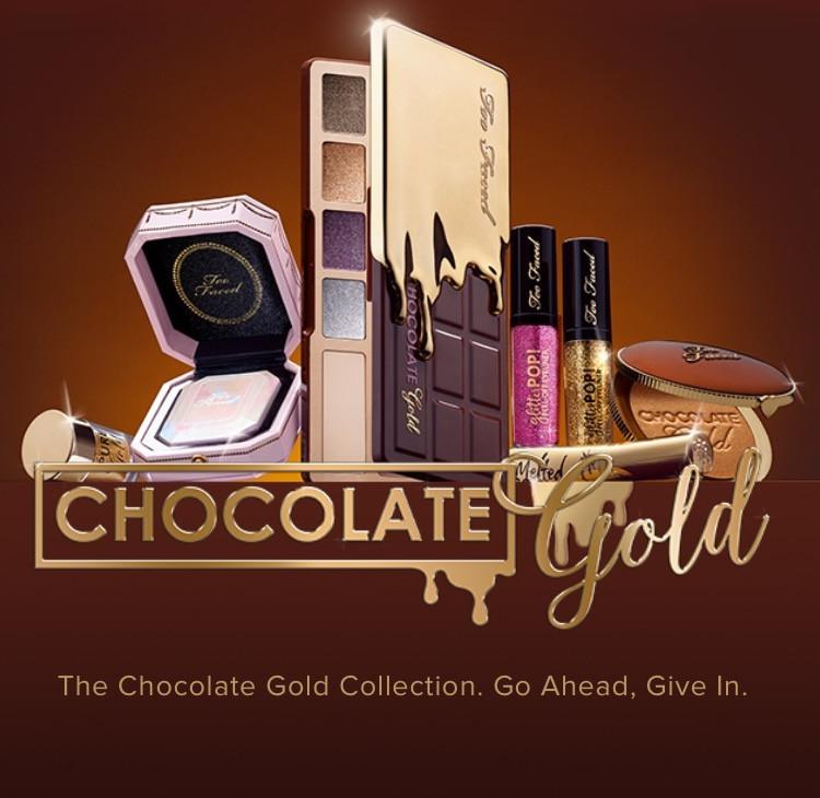Too Faced Chocolate Gold Collection UK | UK Makeup News | FYI Beauty