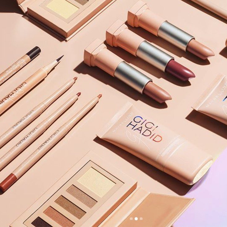 Maybelline X Gigi Hadid Collection UK | UK Makeup News | FYI Beauty