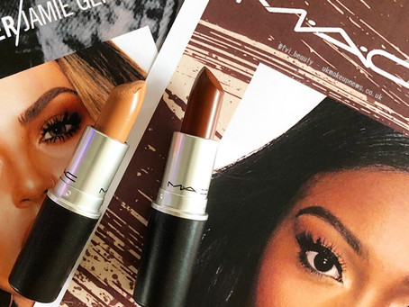 MAC Makers: Jamie Genevieve and Patricia Bright Lipstick Review & Swatches