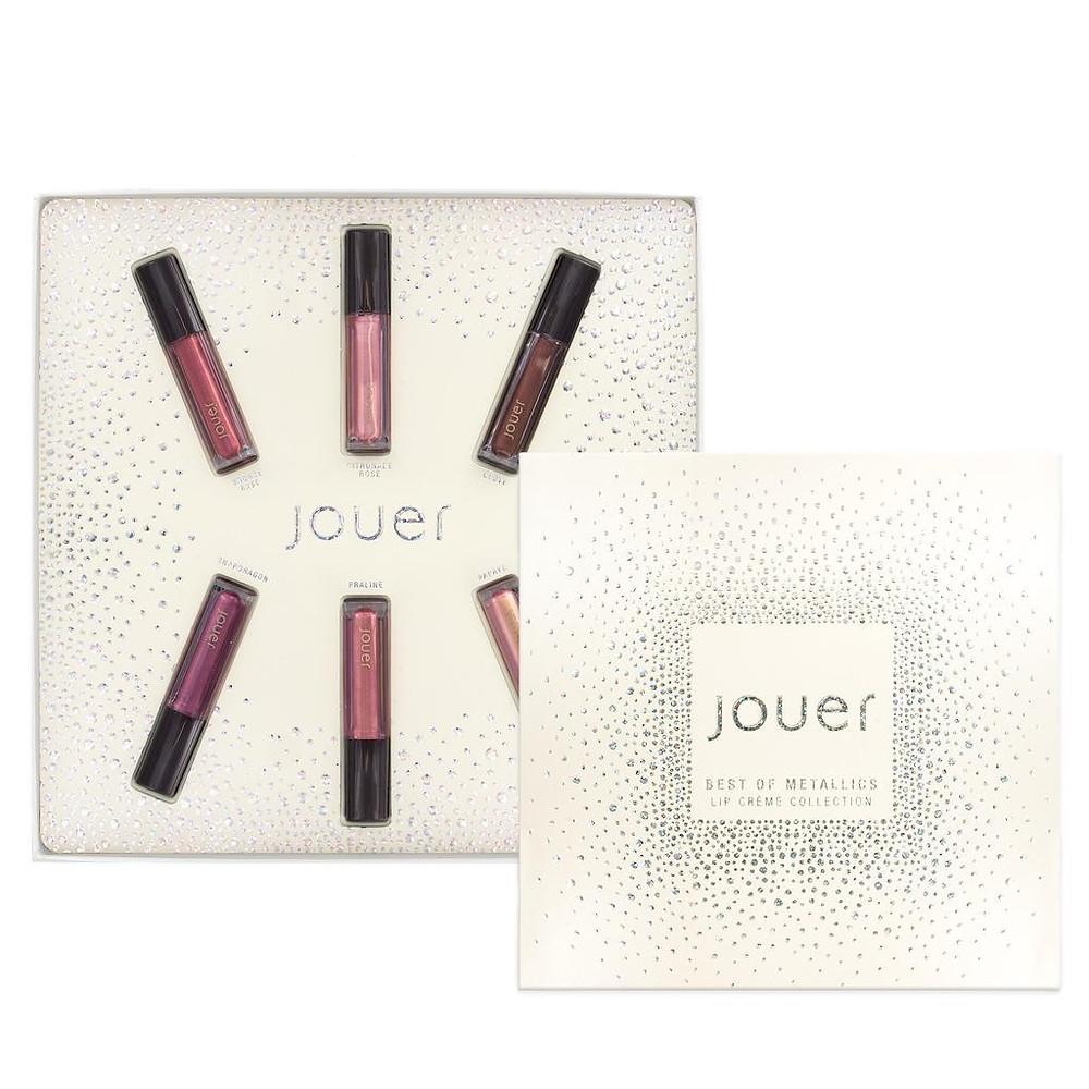 Jouer Cosmetics Best of Metallics Mini Lip Crème Set | UK Makeup News | FYI Beauty