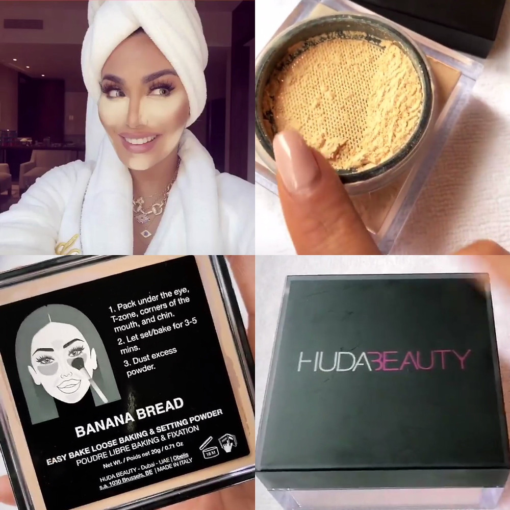 Huda Beauty Ease Bake Setting Powder | FYI Beauty | The Scoop