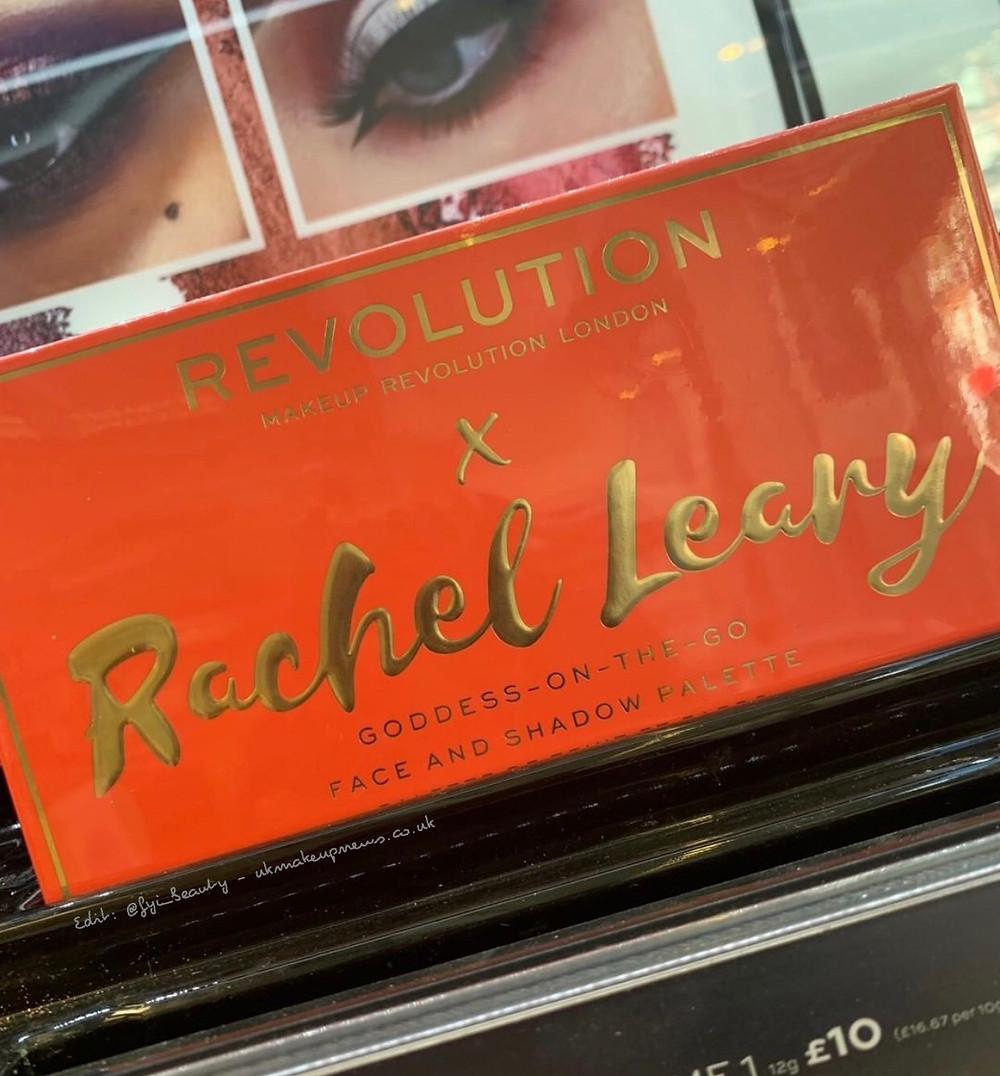 Makeup Revolution X Rachel Leary Goddess On The Go Palette | UK Makeup News | FYI Beauty