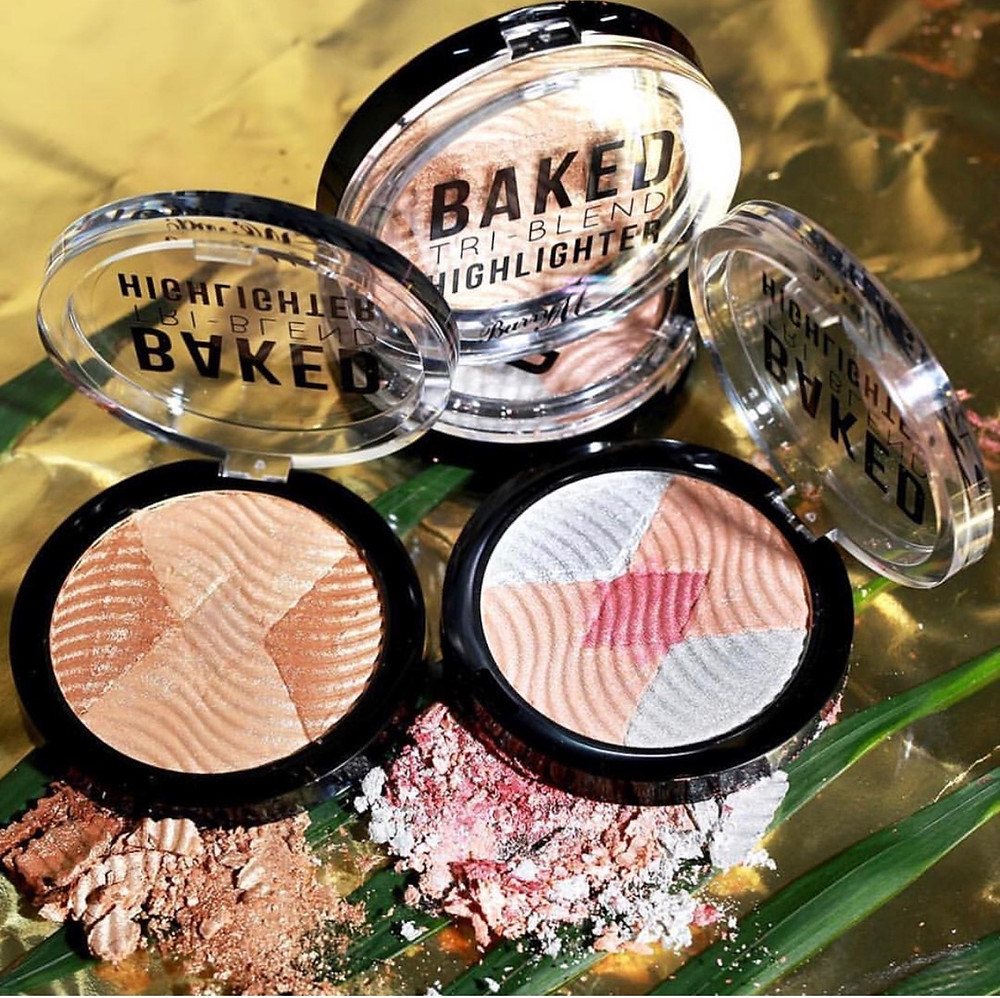 Barry M Cosmetics Baked Tri-Blend Highlighters | The Scoop | FYI Beauty