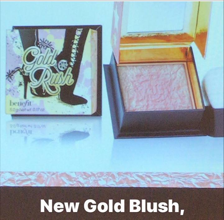 Benefit Cosmetics Gold Rush | UK Makeup News | FYI Beauty