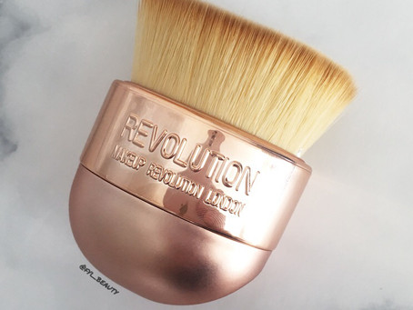 Makeup Revolution Kabuki Brush Review