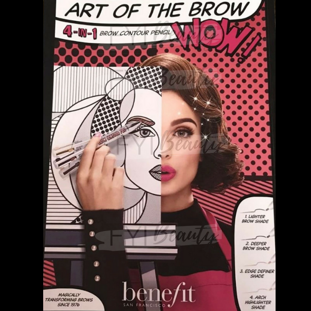 The Benefit Brow Contour Pro 4-in-1 Defining and Highlighting Pencil | UK Makeup News | FYI Beauty