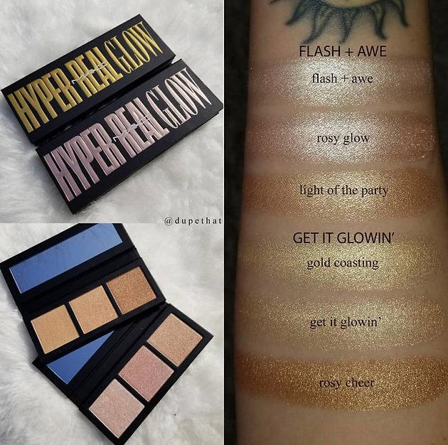 MAC Cosmetics Hyper Real Glow Palette UK Launch